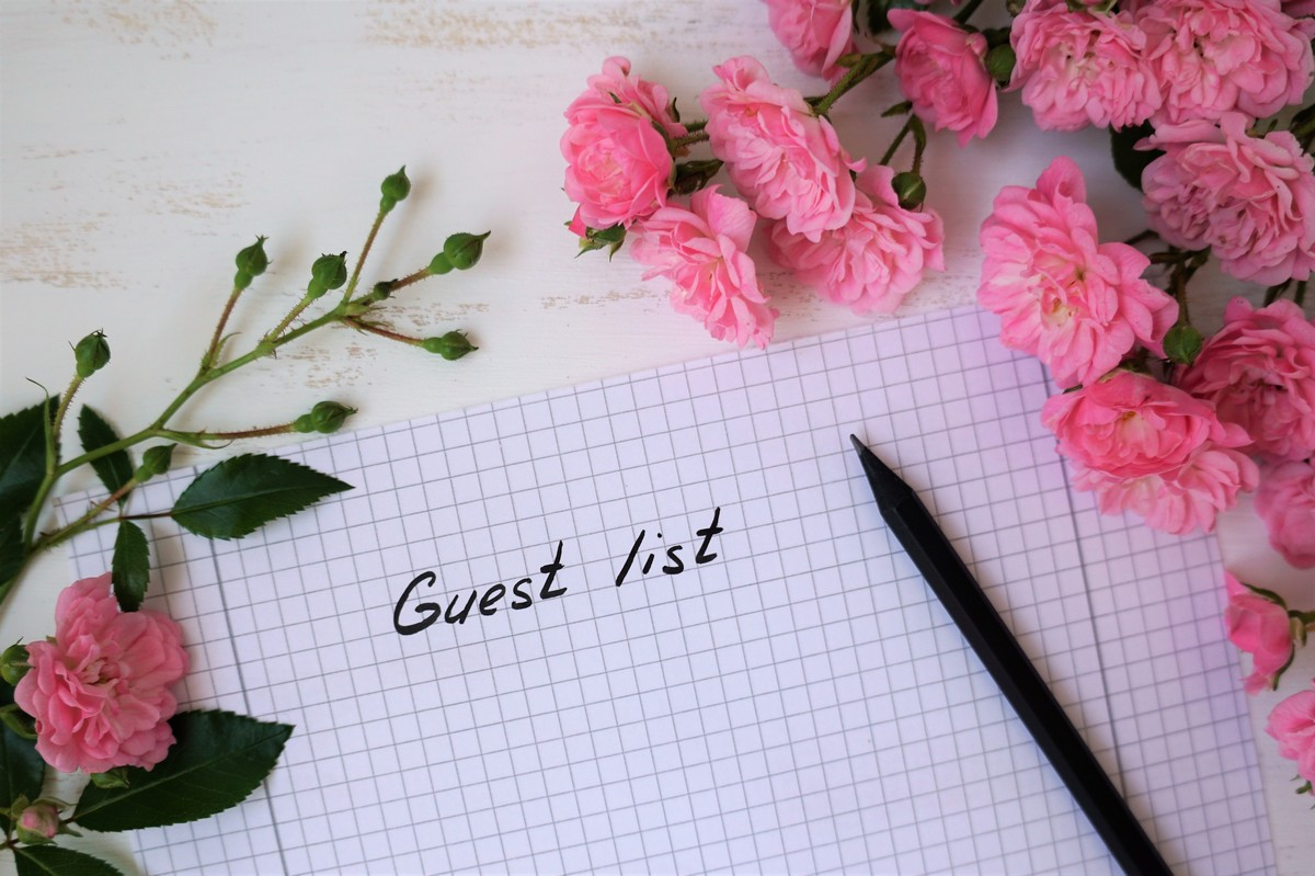 Making the Cut: Creating Your Guest List